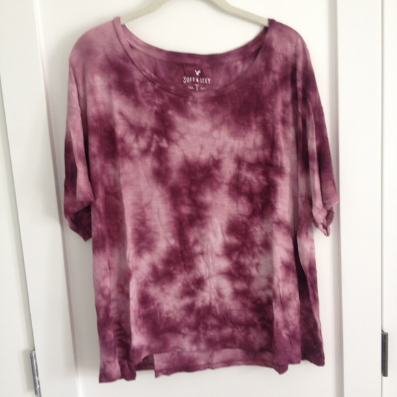 Purple Tye-Dye Baggy T-Shirt